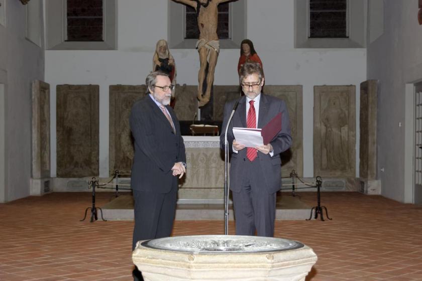Verleihung der Ehrenmitgliedschaft der DGPro an Prof. Dr. Sandro Palla