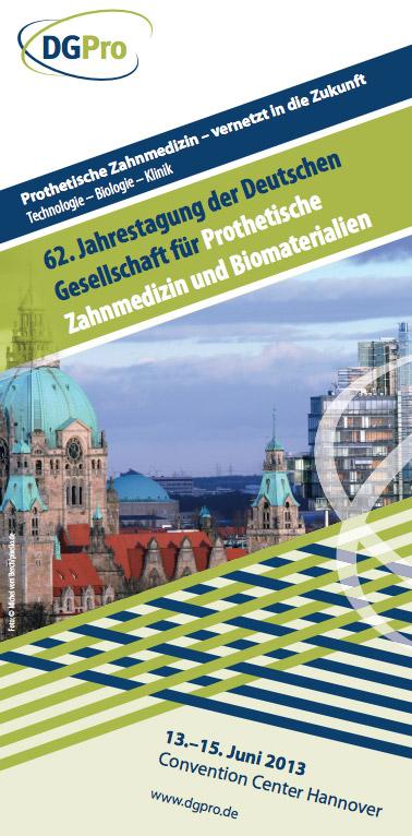 DGPro - Flyer zur 62. Jahrestagung in Hannover